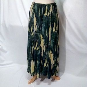 Jones of New York Collection Size L Maxi Skirt